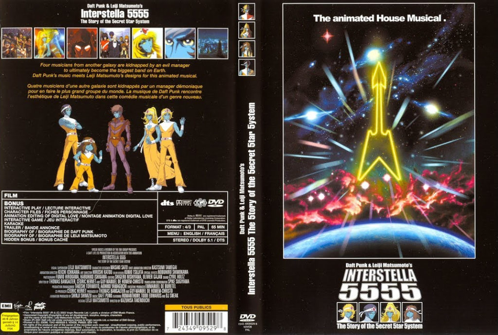Interstella 5555 VHS Art